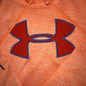 Under Armour Tops - Orange Under Amour Hoodie